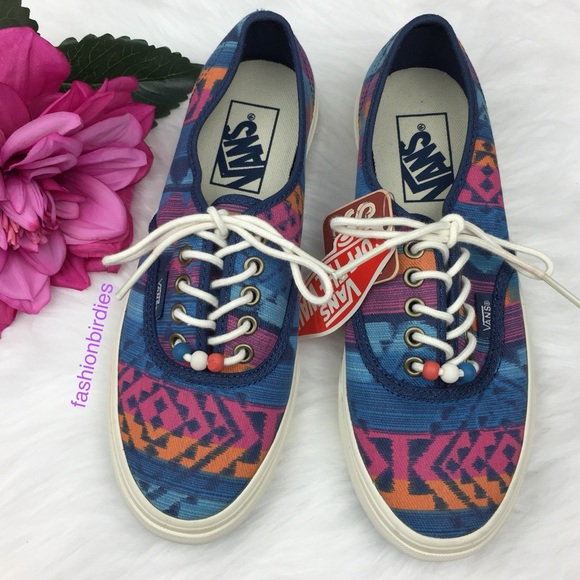 136e9e6425 Vans Authentic Slim Beads Ensign Blue Marshmallow